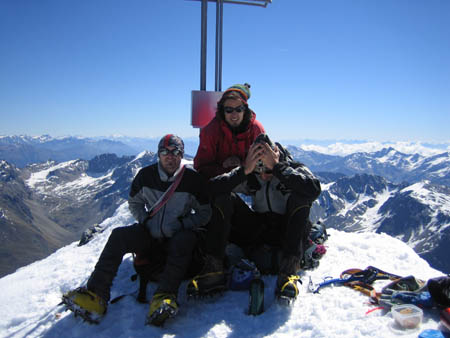-> Ortler Nordwand  3906m   (I)